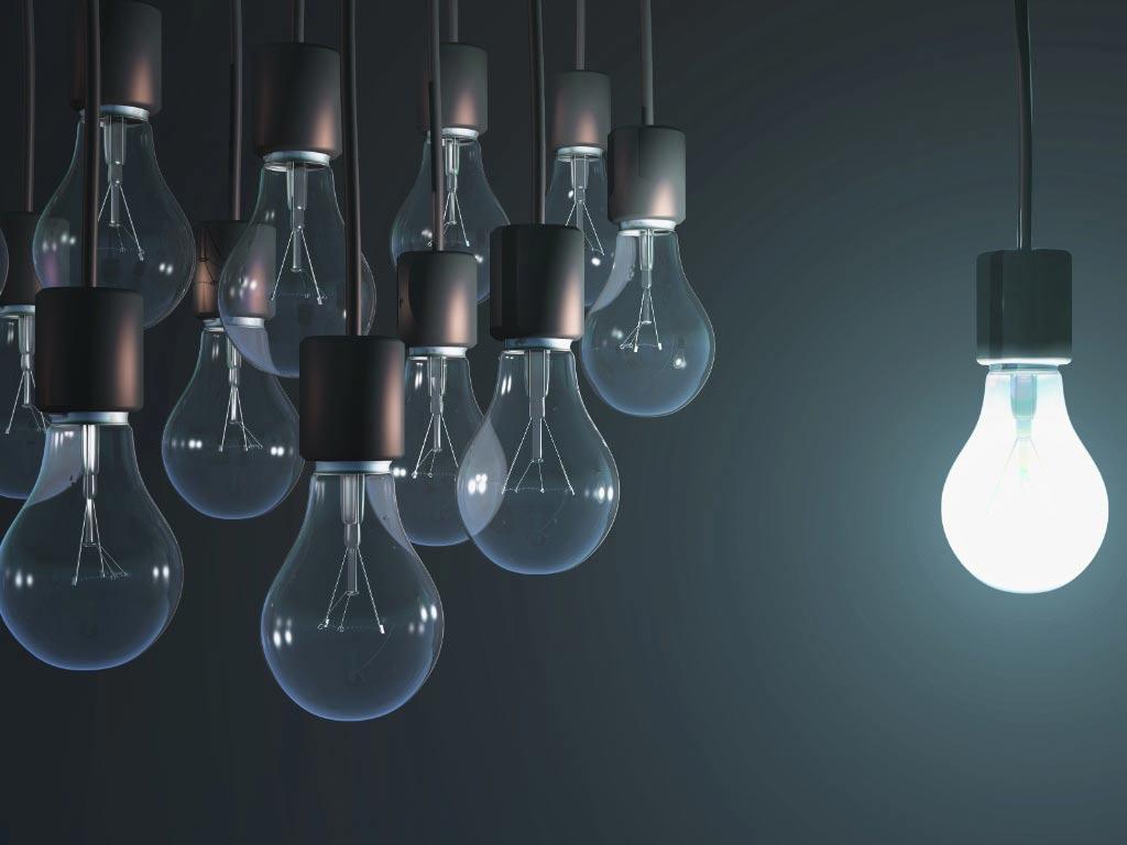 Compare as vantagens das lâmpadas de led